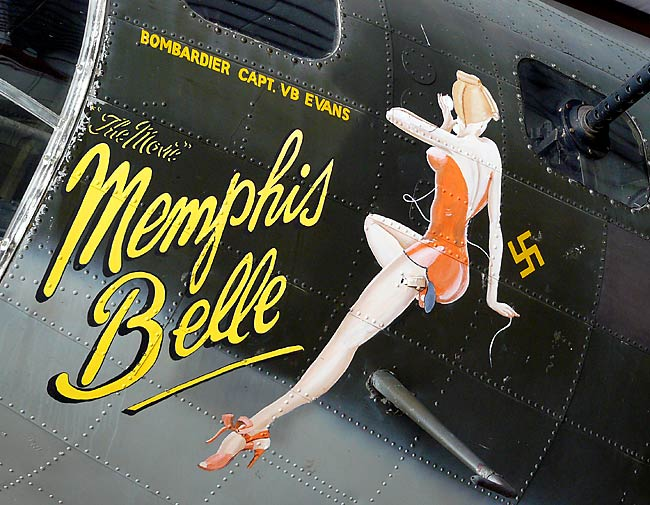 Amazoncom Customer Reviews B17 Nose Art Name Directory