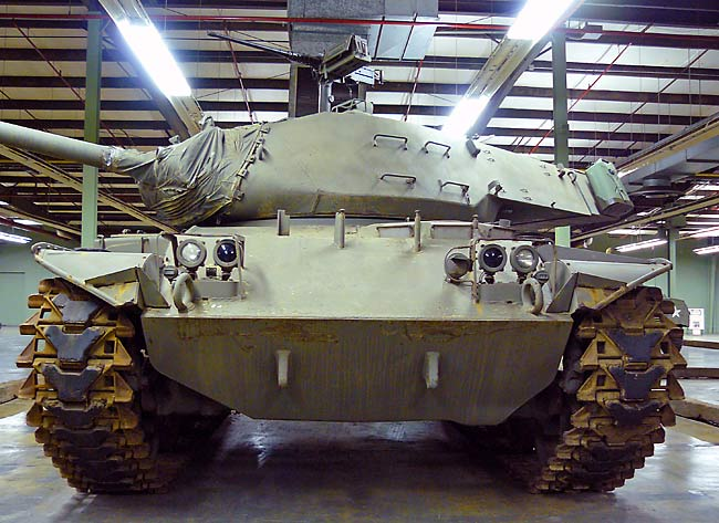 ... Tank Museum - US Tanks - M41A3 Walker Bulldog Tank