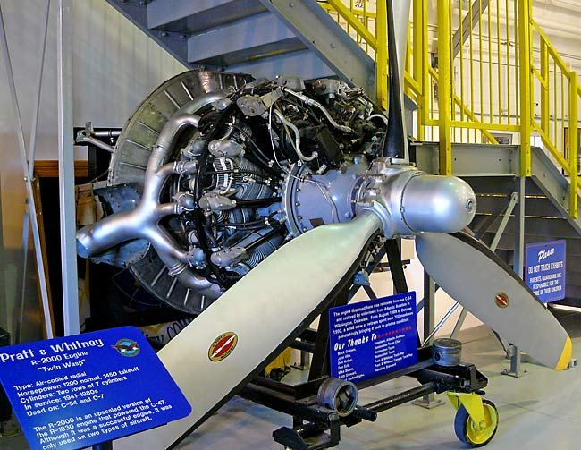 27 Pratt & Whitney R-2000 Twin Wasp