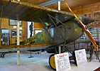 Fokker D VII at the Brome County Historical Society Museum