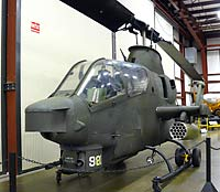 MAPS Air Museum - Bell AH-1 Cobra Attack Helicopter