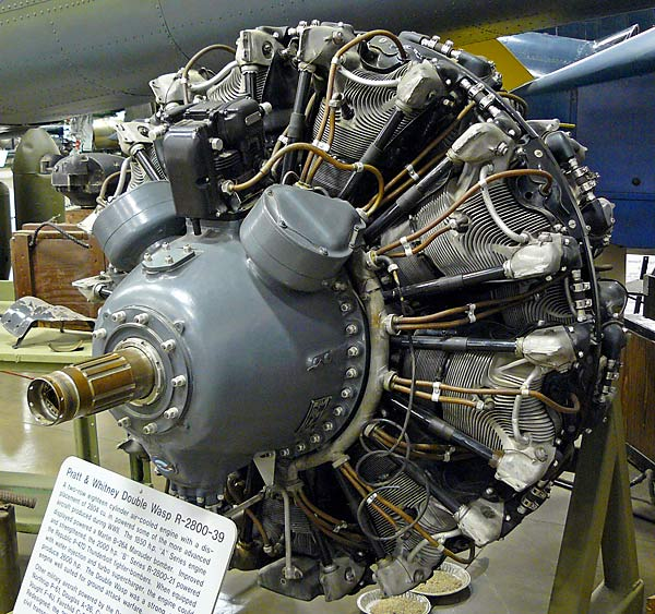 12 Pratt & Whitney R-2800 Radial Engine