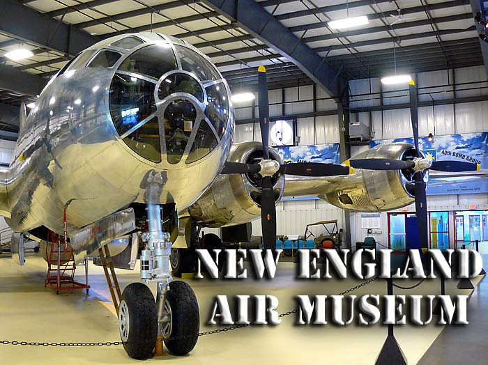 New England Air Museum Outdoor Exhibits