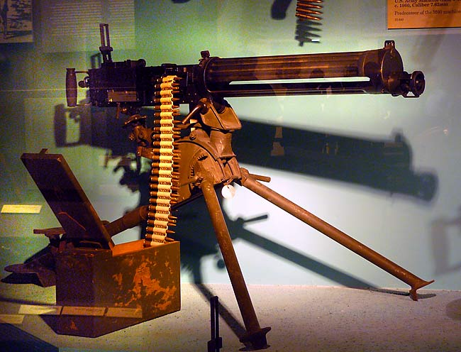 us army machine guns
