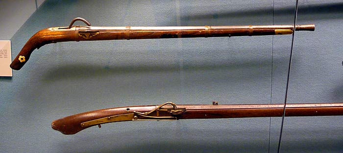 http://www.williammaloney.com/Aviation/WestPointMilitaryMuseum/Muzzleloaders/images/07ChineseMatchlockJapaneseM.jpg