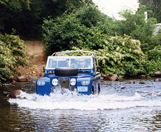 Land Rovers and Land Rover Rallies