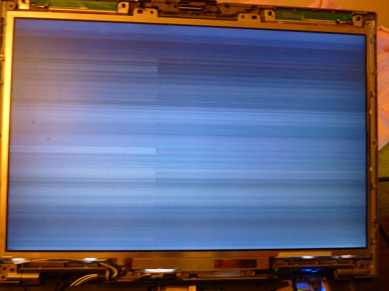 how to fix lcd failure on dell laptop