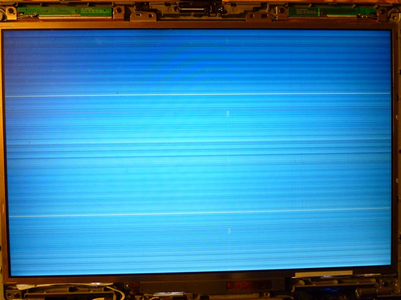 Why does a laptop screen flicker?